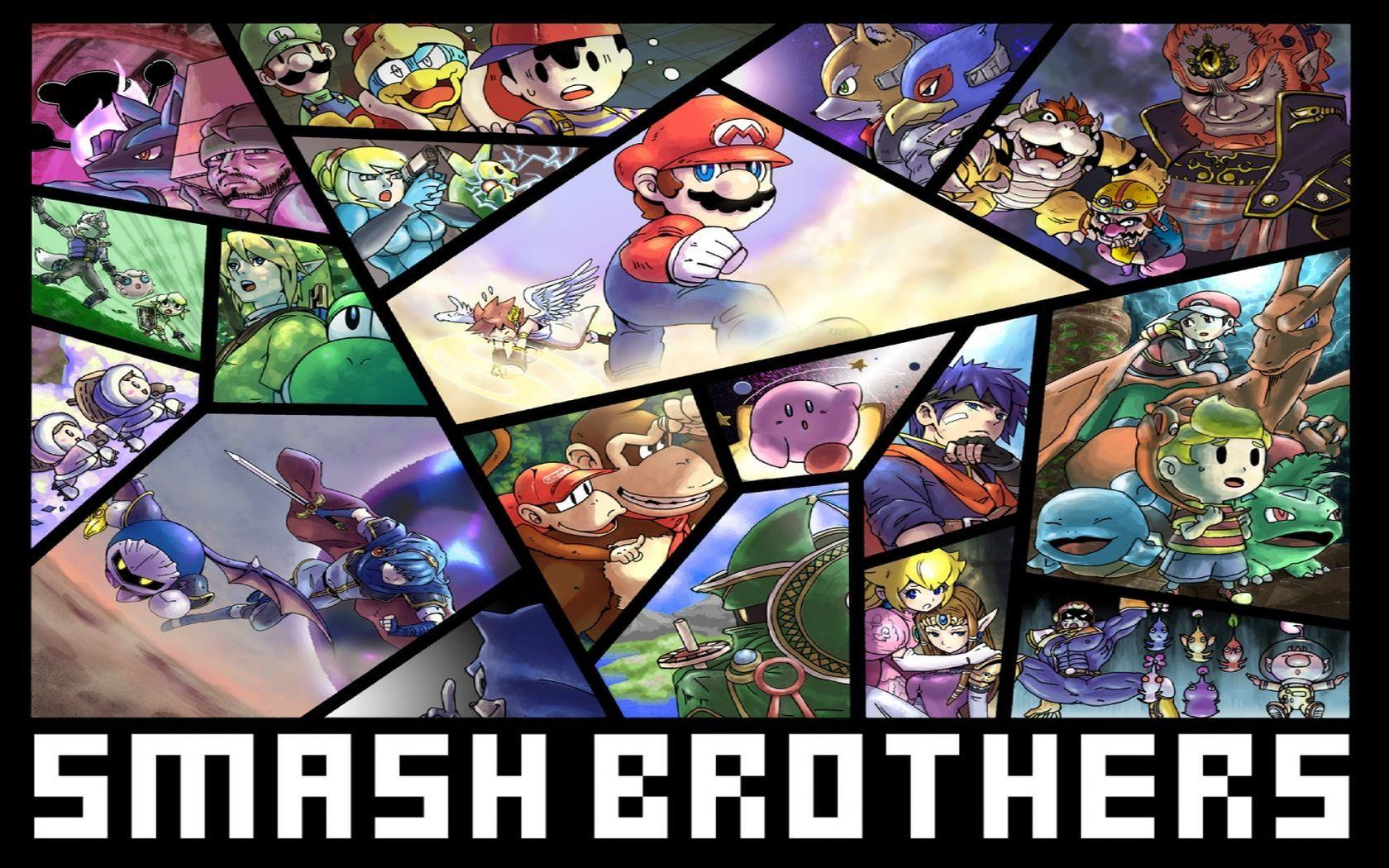 Wallpaper: Super Smash Bros.