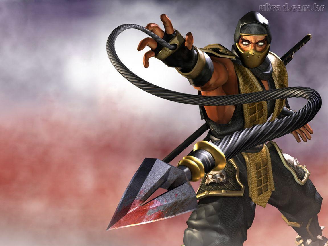 Mortal kombat wallpapers scorpion wallpaper cave - Mortal kombat scorpion wallpaper ...