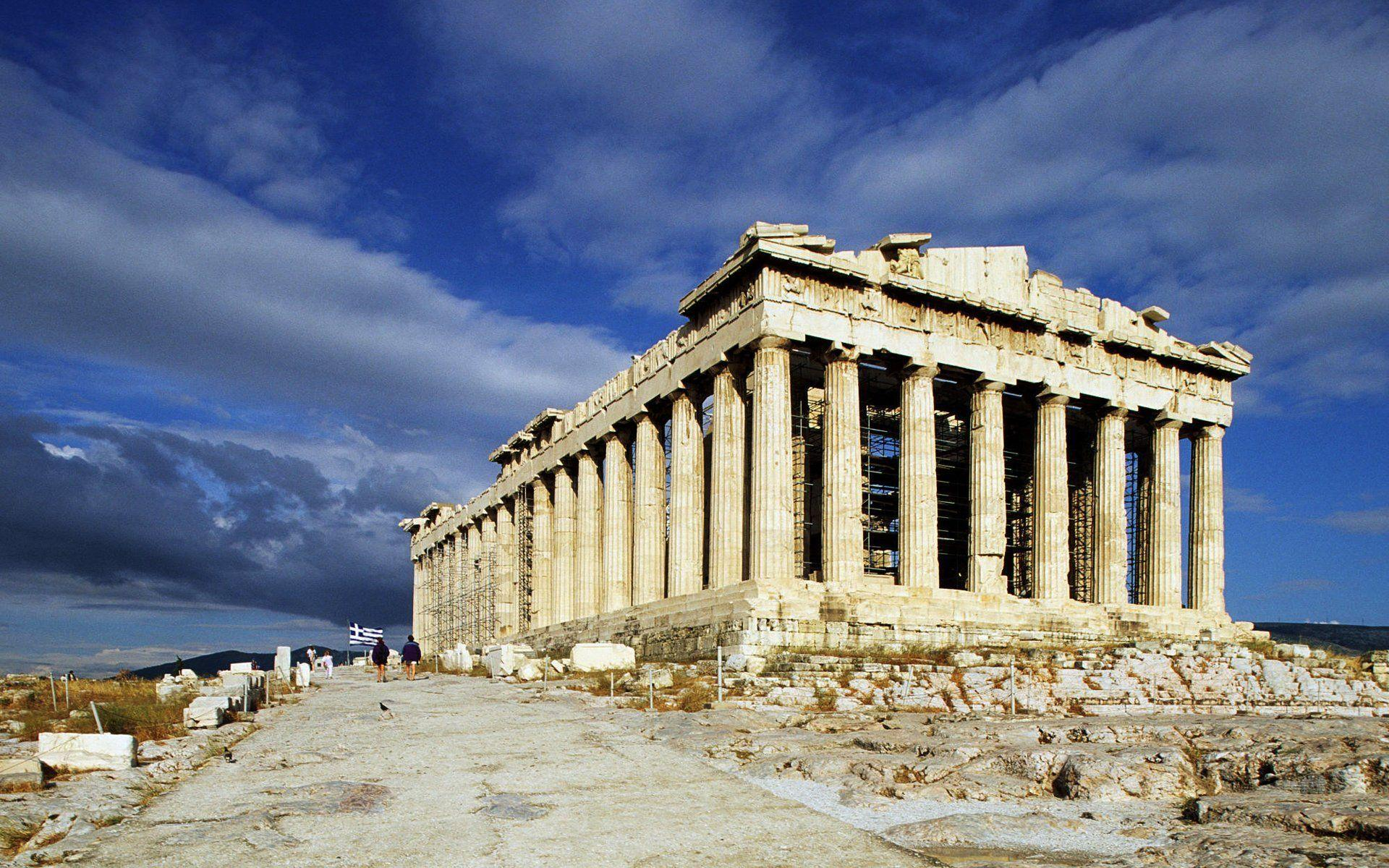 A history of the parthenon temple
