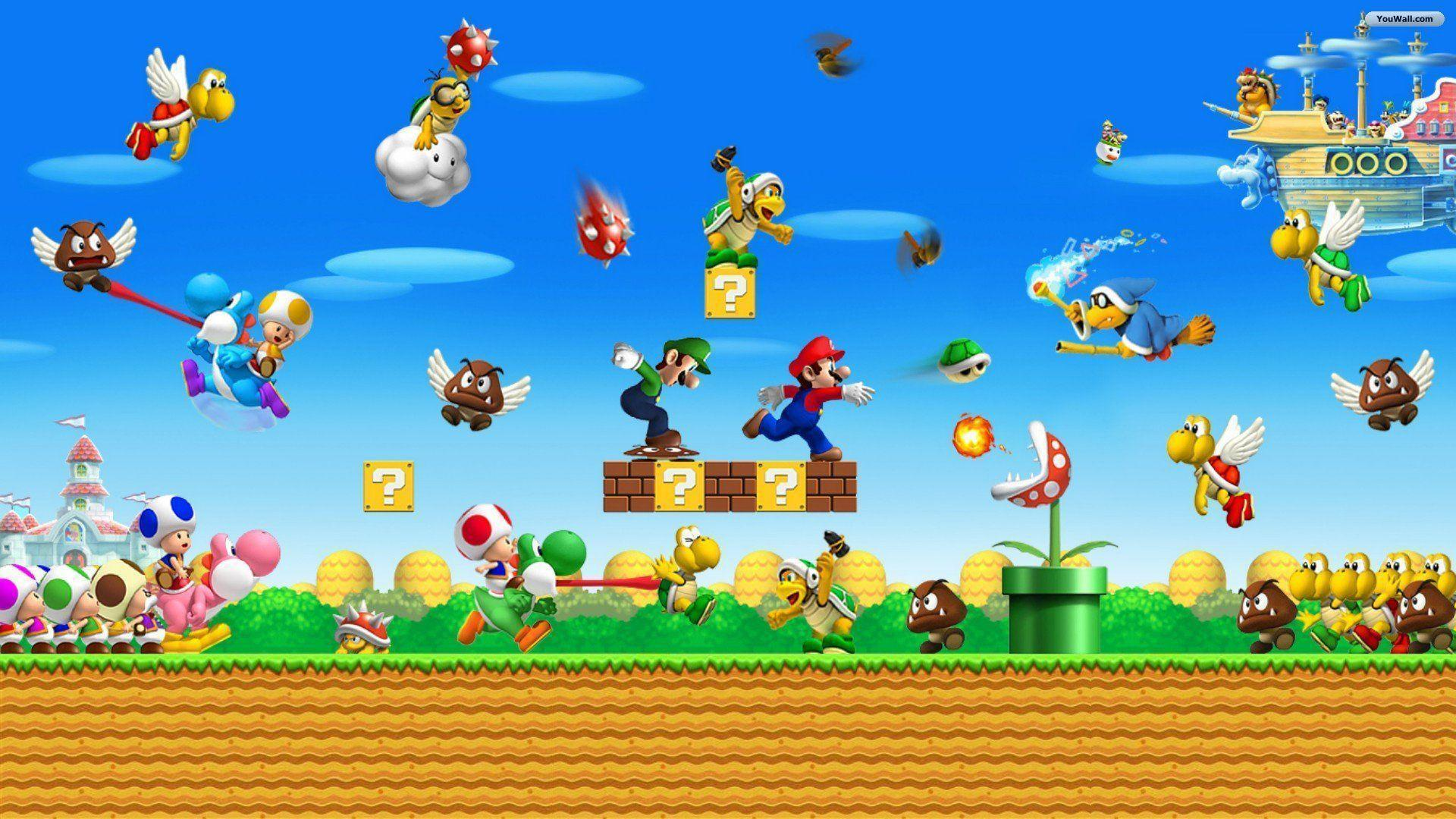 Mario Wallpapers Hd Wallpaper Cave