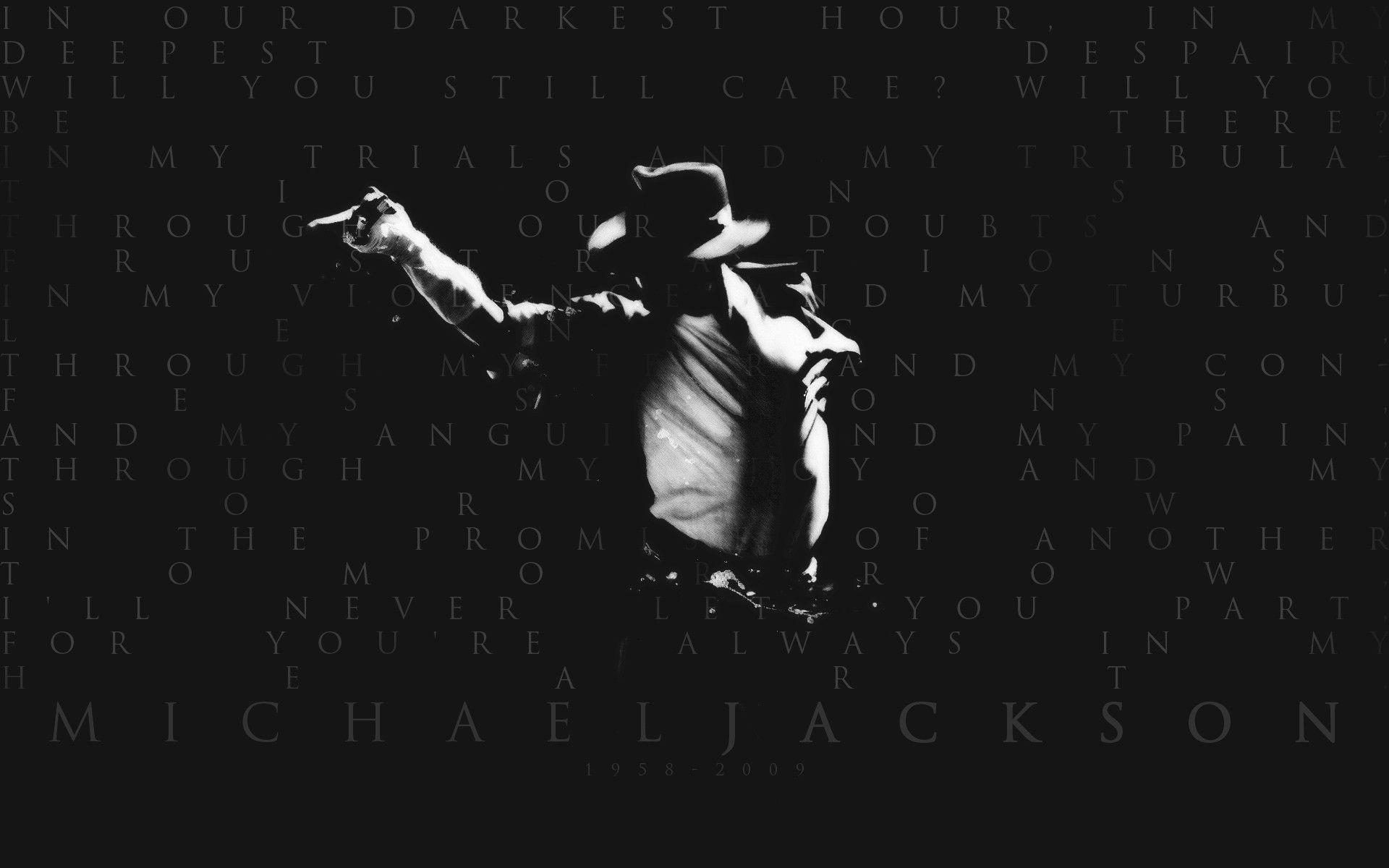 Michael Jackson Wallpaper Quotes 5224 Full HD Wallpaper Desktop ...