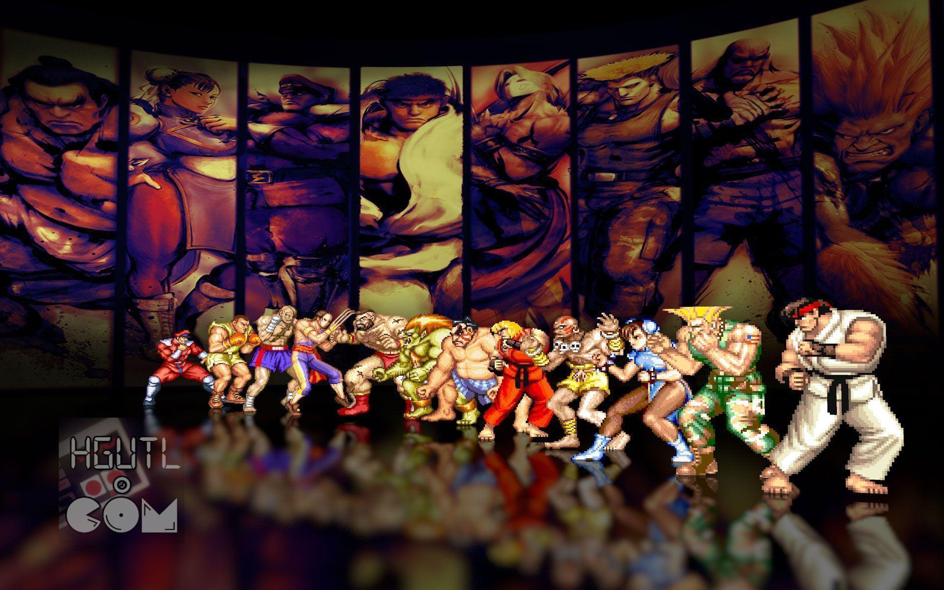 Street Fighter 2 Wallpapers - Wallpaper Cave