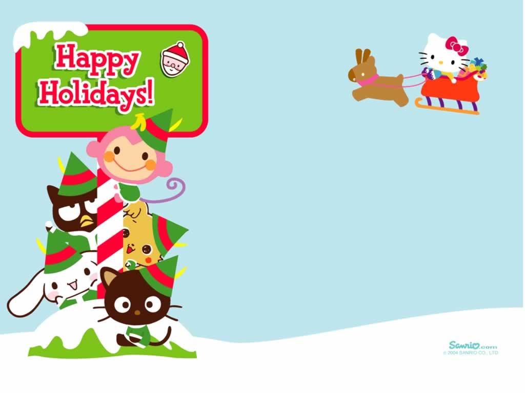 Kawaii Christmas Wallpaper