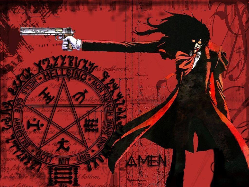 Hellsing alucard wallpapers wallpaper cave - Anime hellsing wallpaper ...