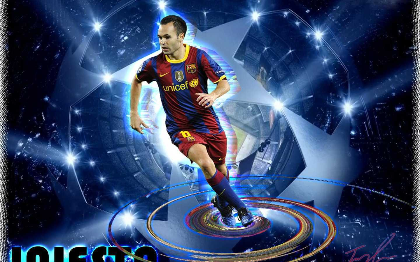 Andres Iniesta wallpapers (17 Wallpapers)