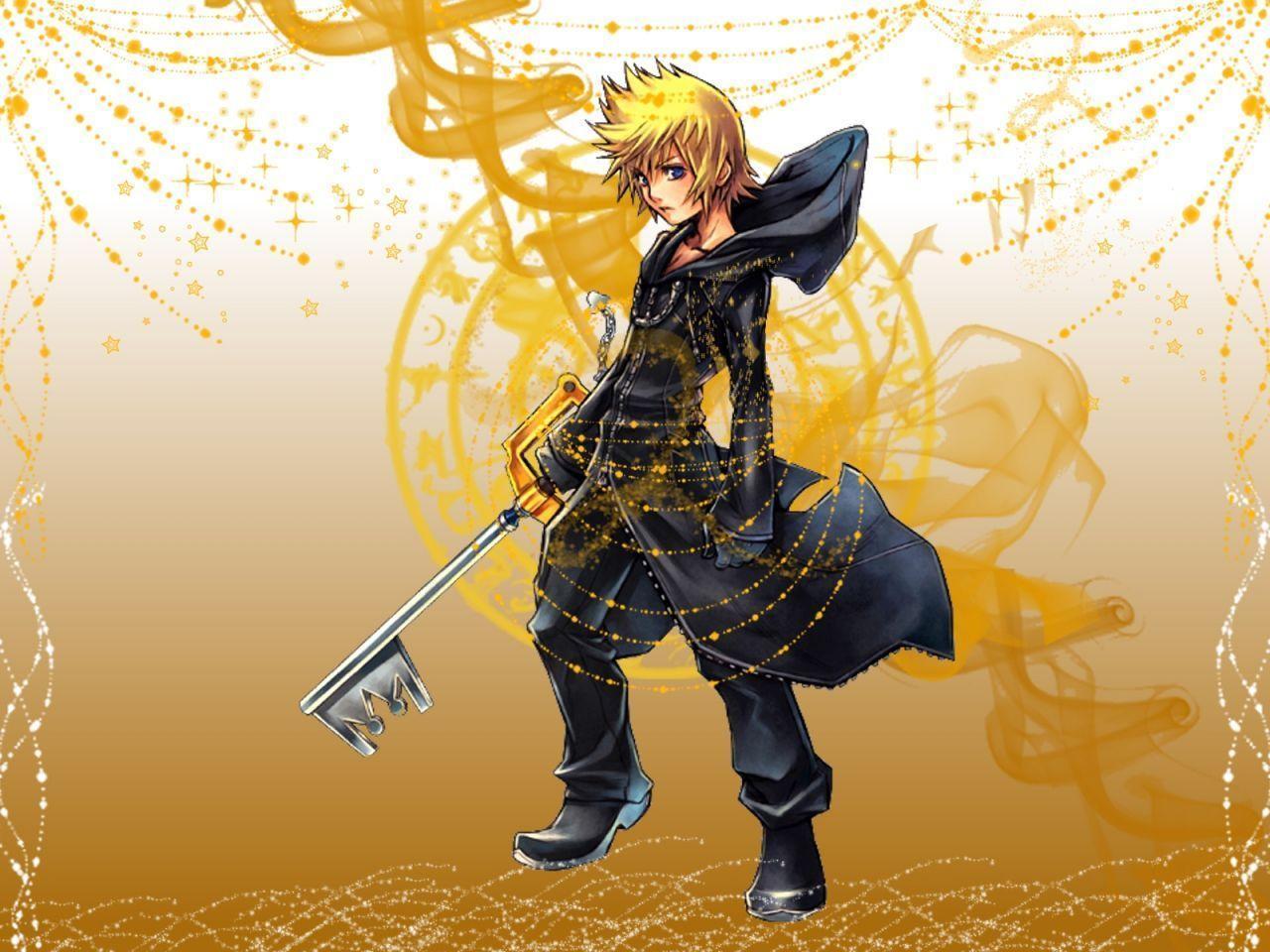 Kingdom Hearts Roxas Wallpapers - Wallpaper Cave