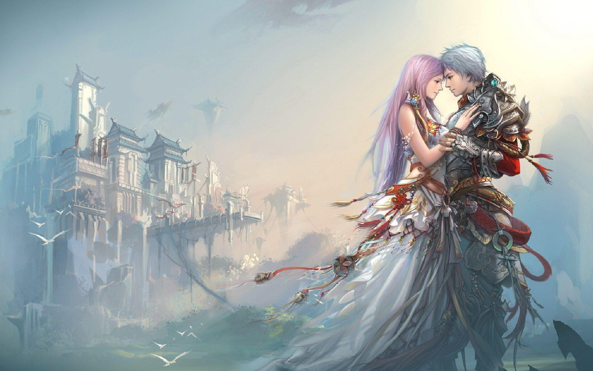 Anime Boy And Girl In Love Wallpaper : Anime Love Wallpapers - Wallpaper cave