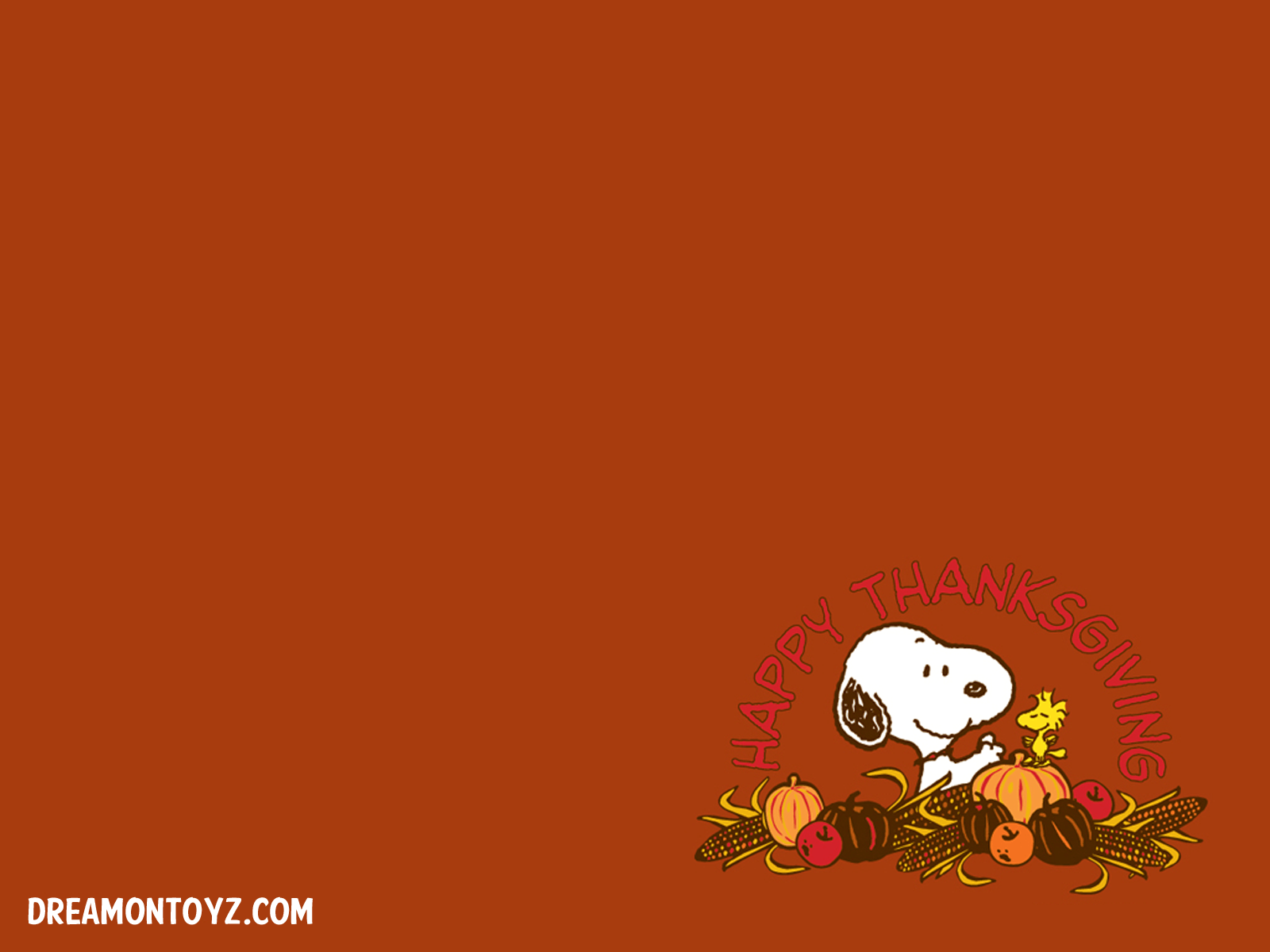 Snoopy Thanksgiving Wallpapers Wallpaper