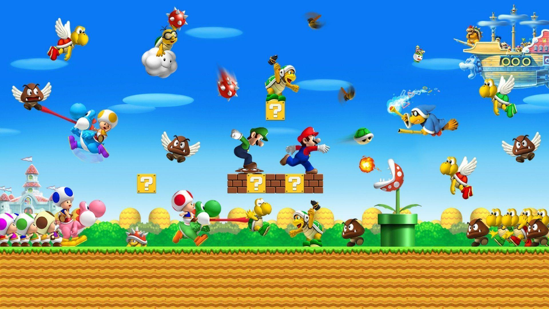New Super Mario Bros 2 wallpaper - 1175789
