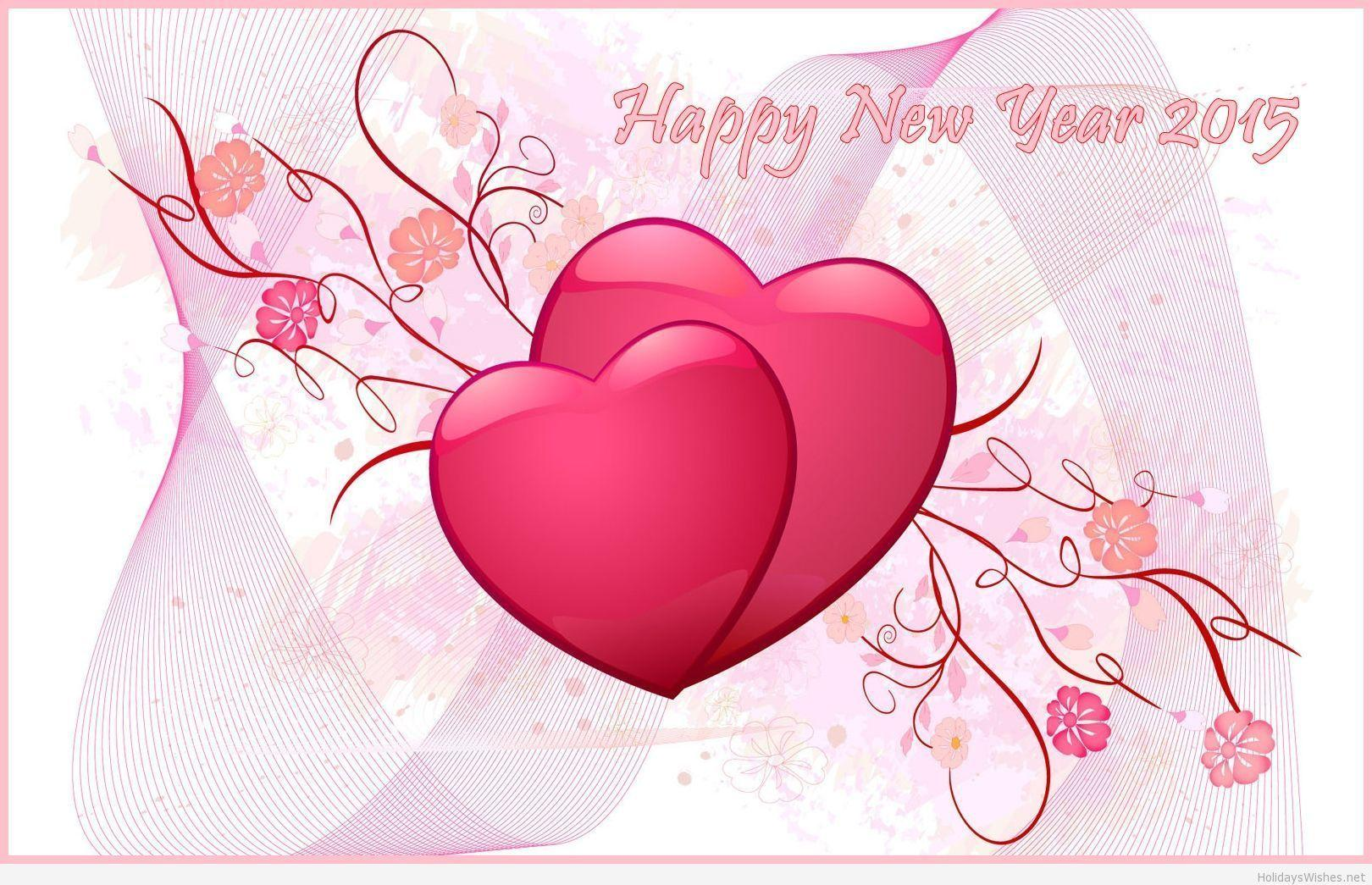 Nice love wallpapers for new year 2015