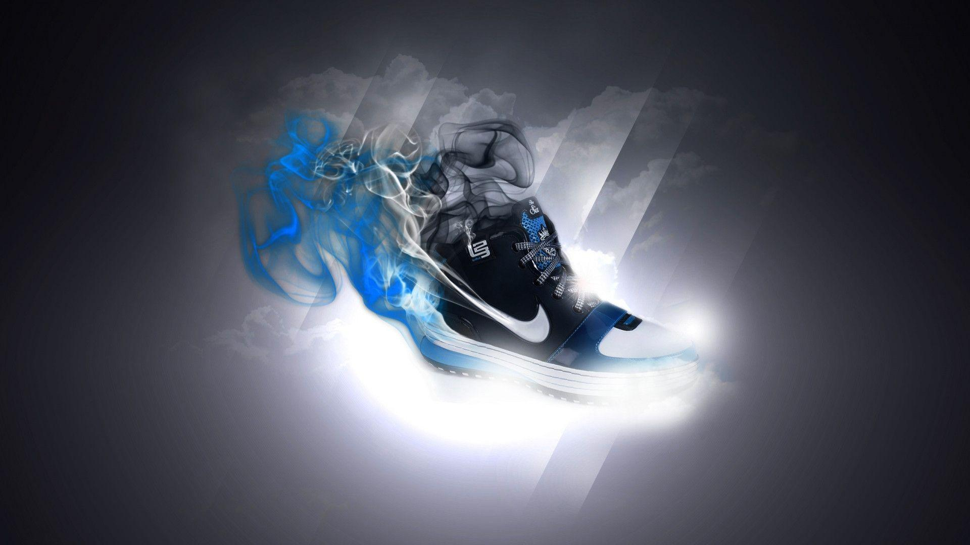 Hd wallpaper nike - Nike Shoes 3d Wallpapers Hd Wallpicshd