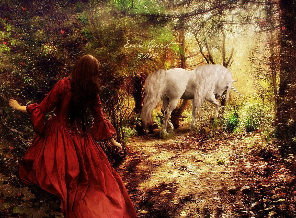 The Virgin and the Unicorn by Renilicious on DeviantArt