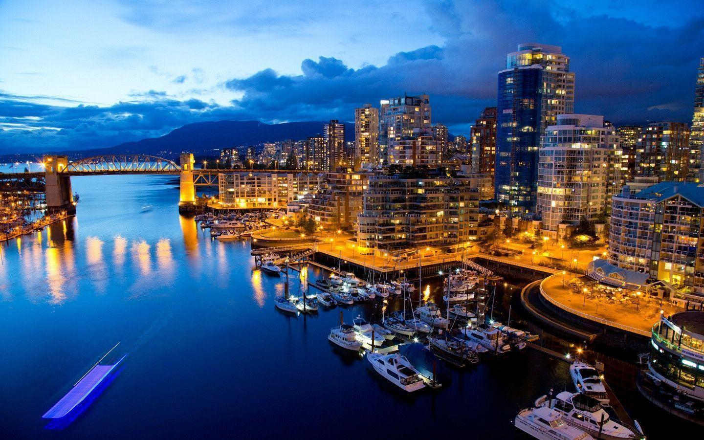 1440x900 Vancouver Pier Wallpapers