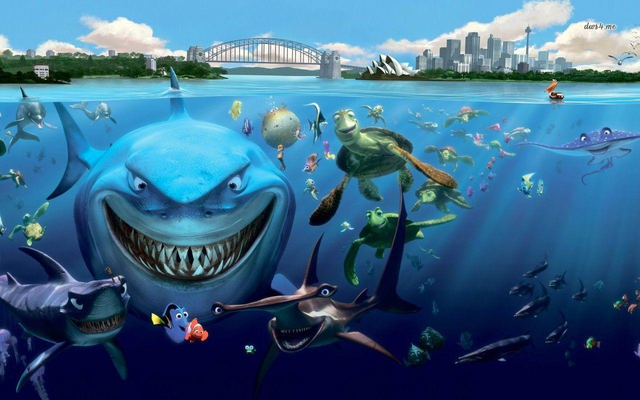 finding nemo hd wallpapers - photo #11