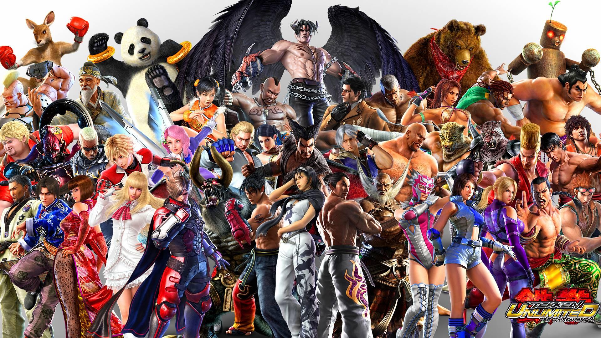 Resultado de imagen de tekken characters