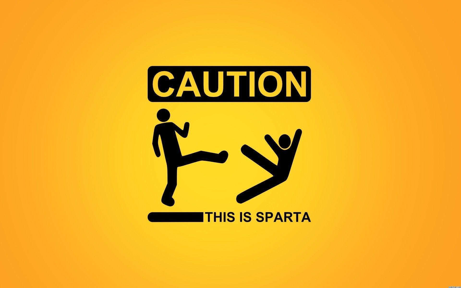Funny Caution Hd 1080p Wallpaper