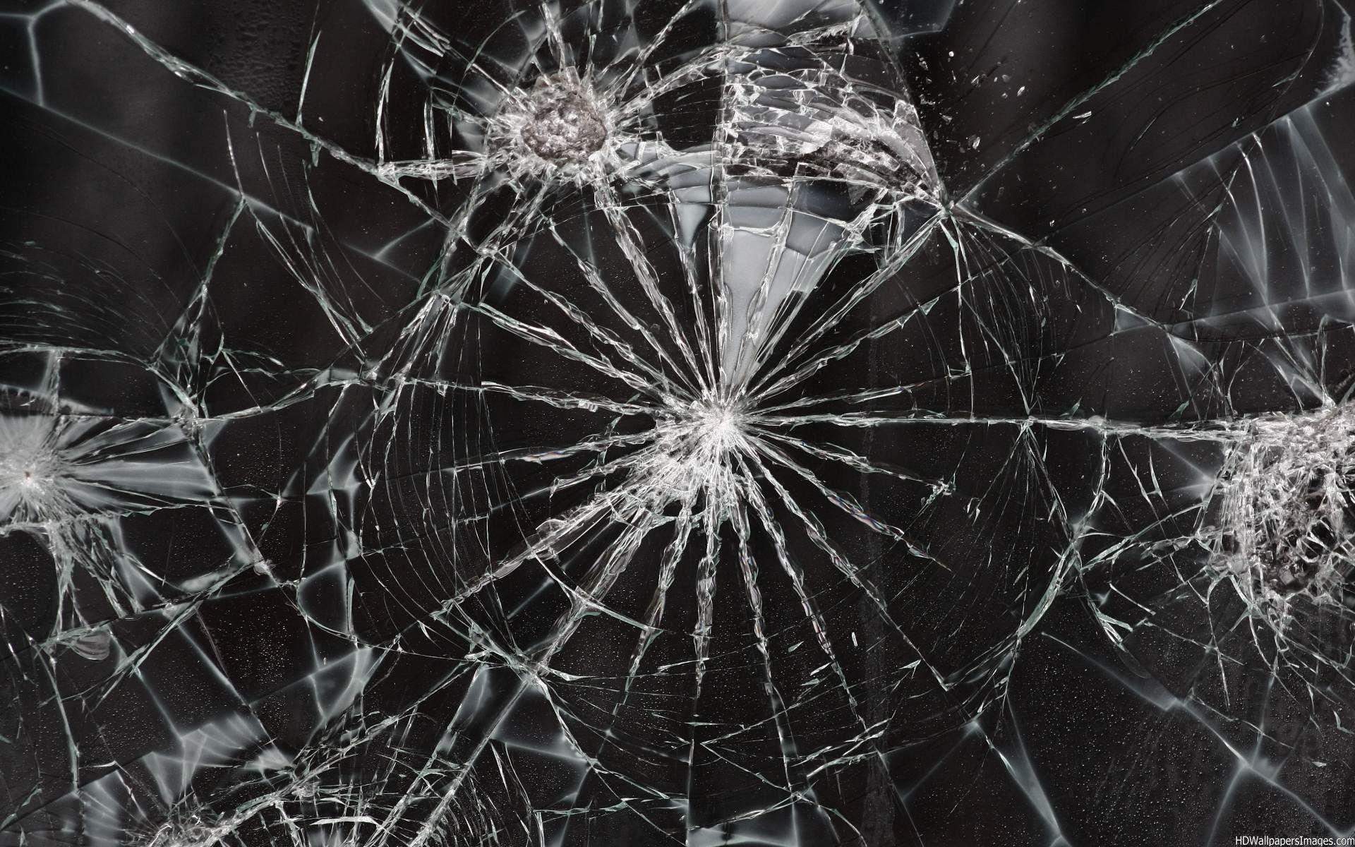 cracked screen wallpaper for - photo #3