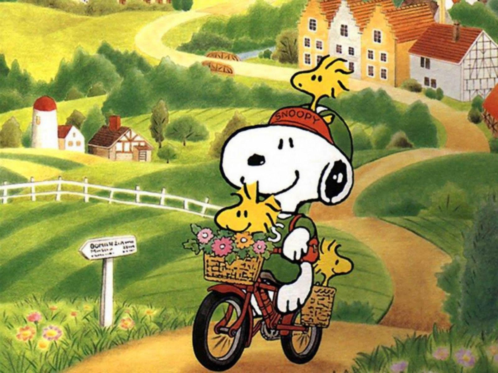 Spring Snoopy Wallpapers - Wallpaper Cave