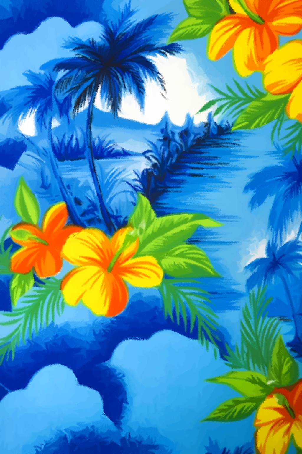 Images For > Hawaiian Shirt Pattern Wallpaper