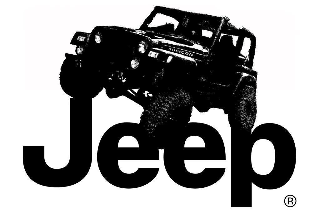 Black Jeep Logo | Car HD Wallpaper