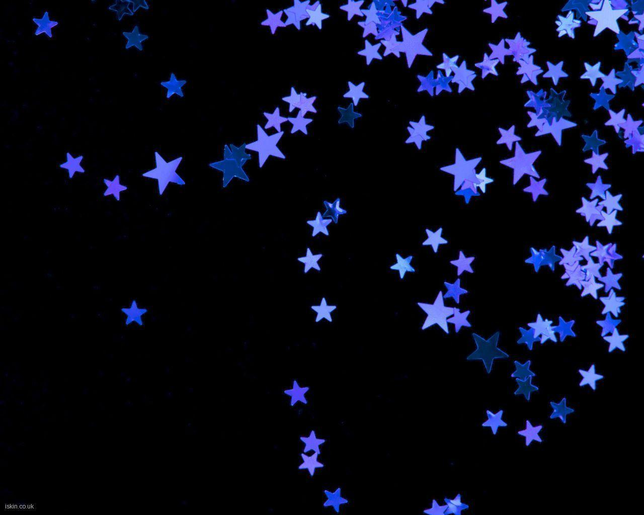Wallpapers For > Black And Purple Star Backgrounds