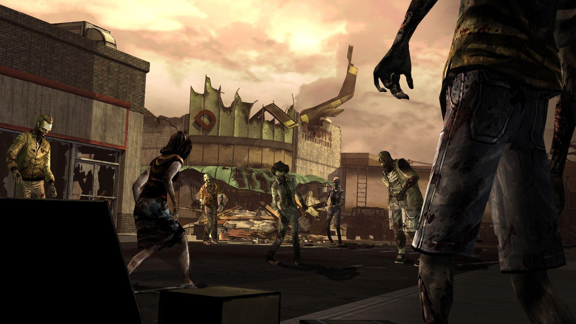 Images For > The Walking Dead Game Wallpaper