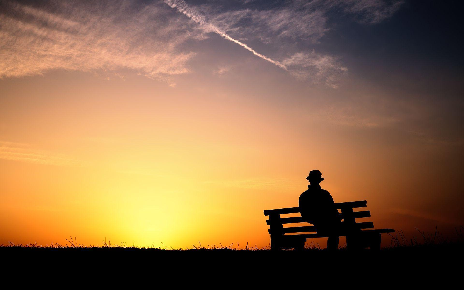 Wallpapers For Sitting Alone Hd