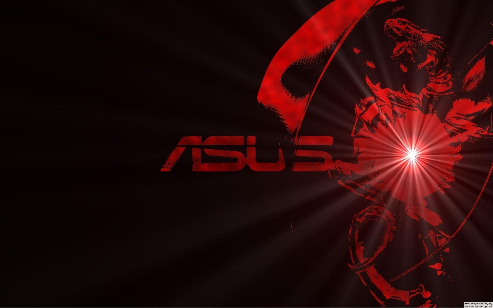 asus red tecnology wallpaper - photo #28