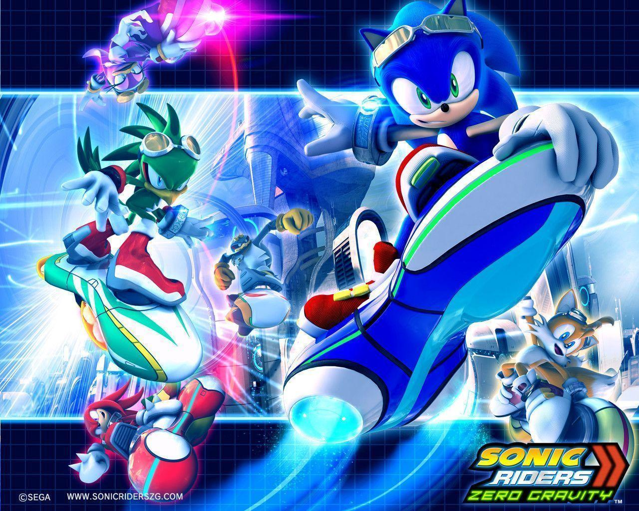 Sonic Riders Wallpapers Wallpaper Cave