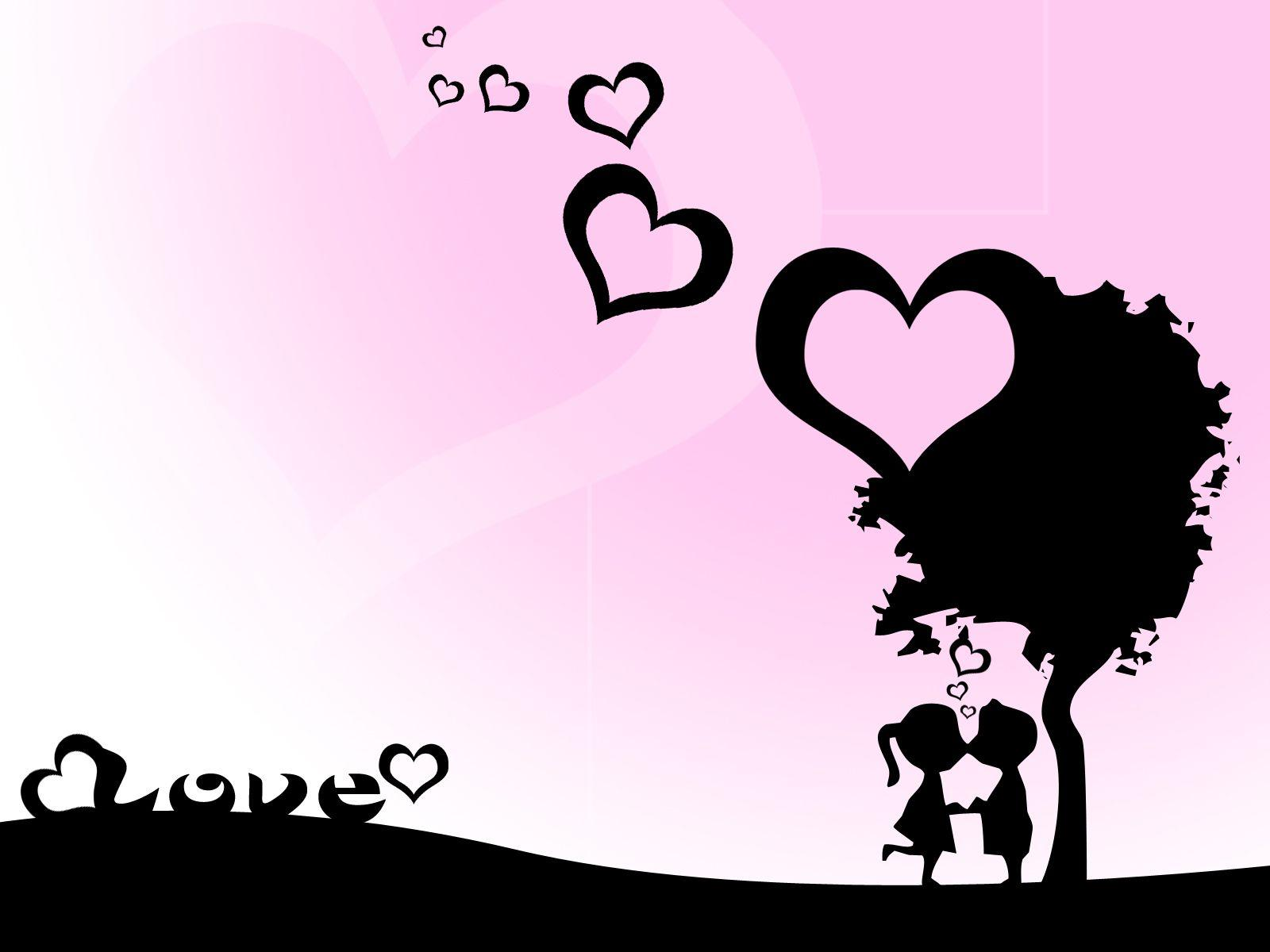 Wallpapers For Cute Love Background Designs