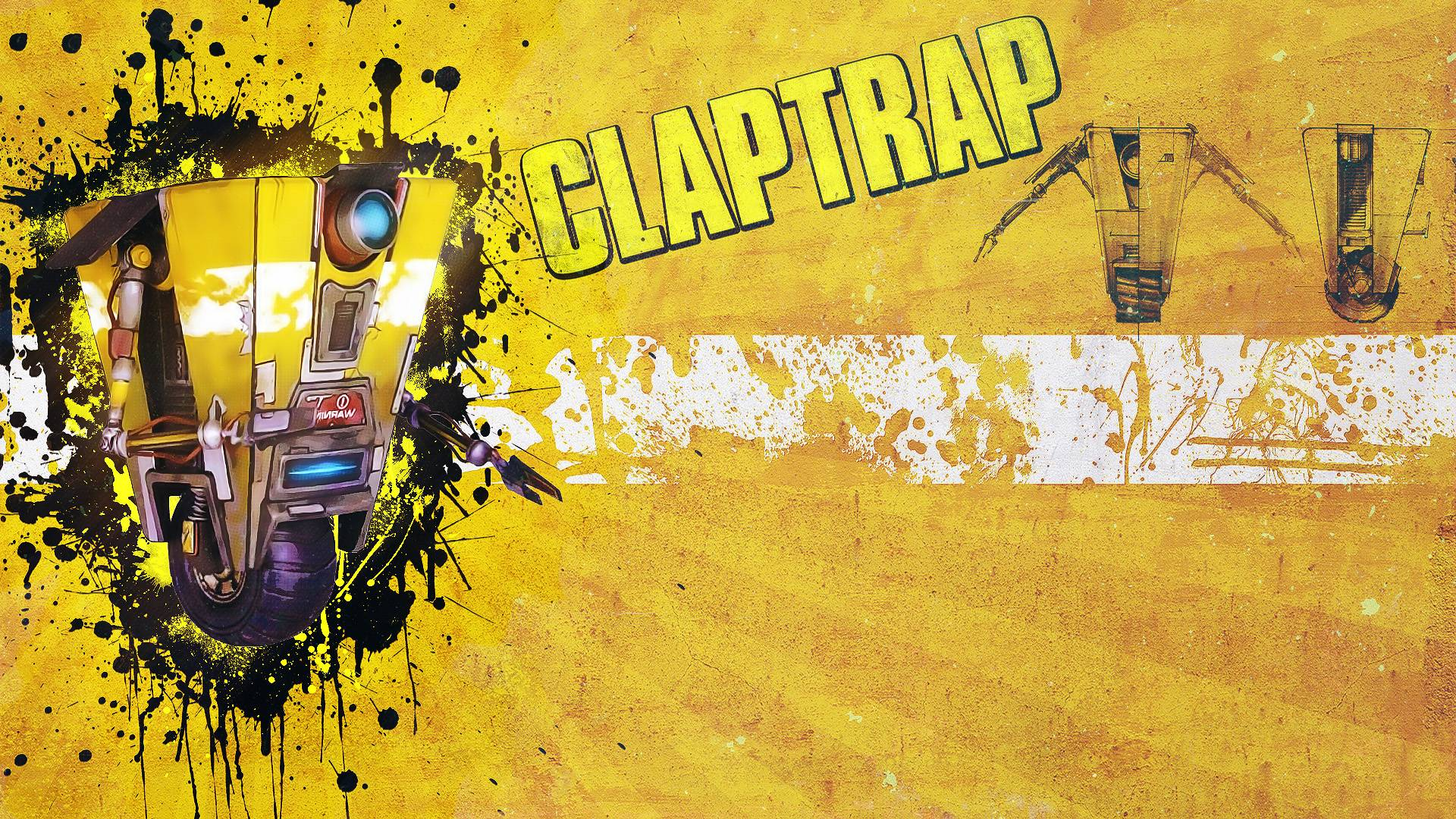 Claptrap wallpapers wallpaper cave images for claptrap wallpaper voltagebd Image collections
