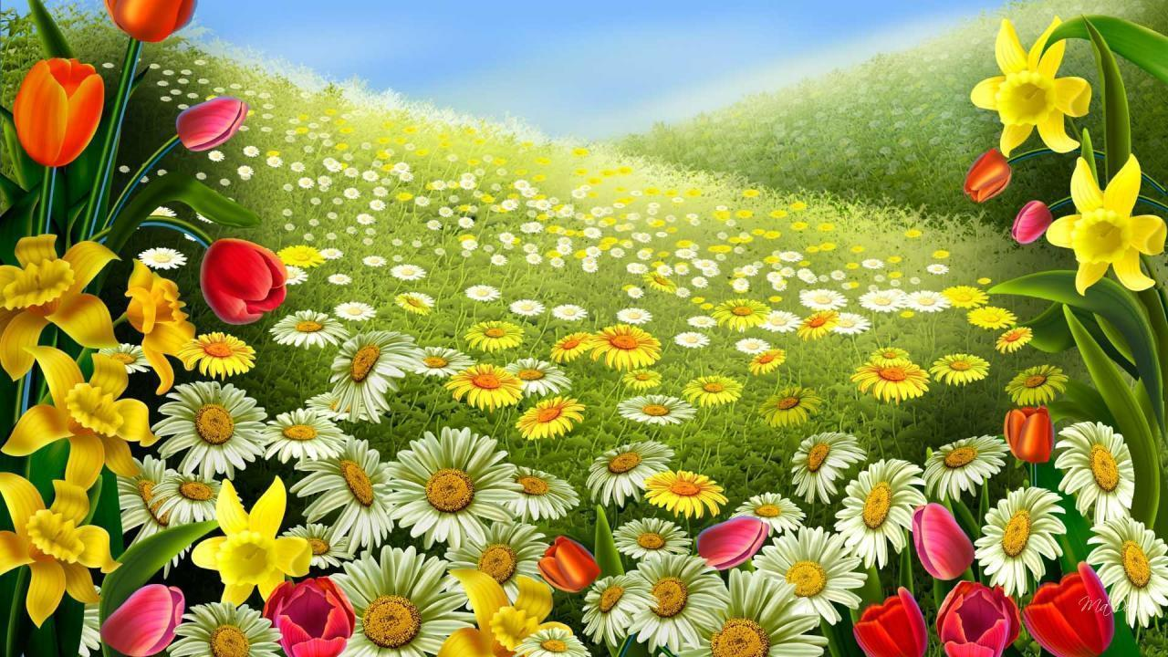Spring Flowers Wallpapers Free