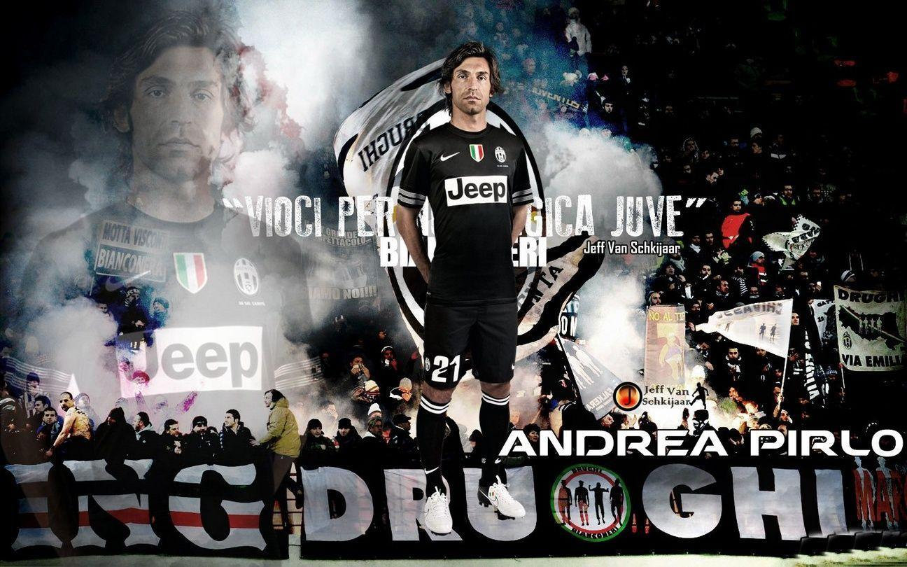 Football Wallpapers: Gorgeous Andrea Pirlo Juventus FC Desktop