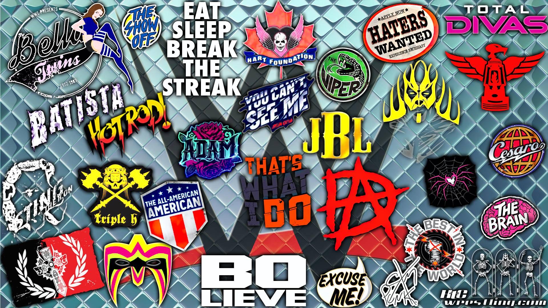 Wwe Logos Wallpapers Wallpaper Cave