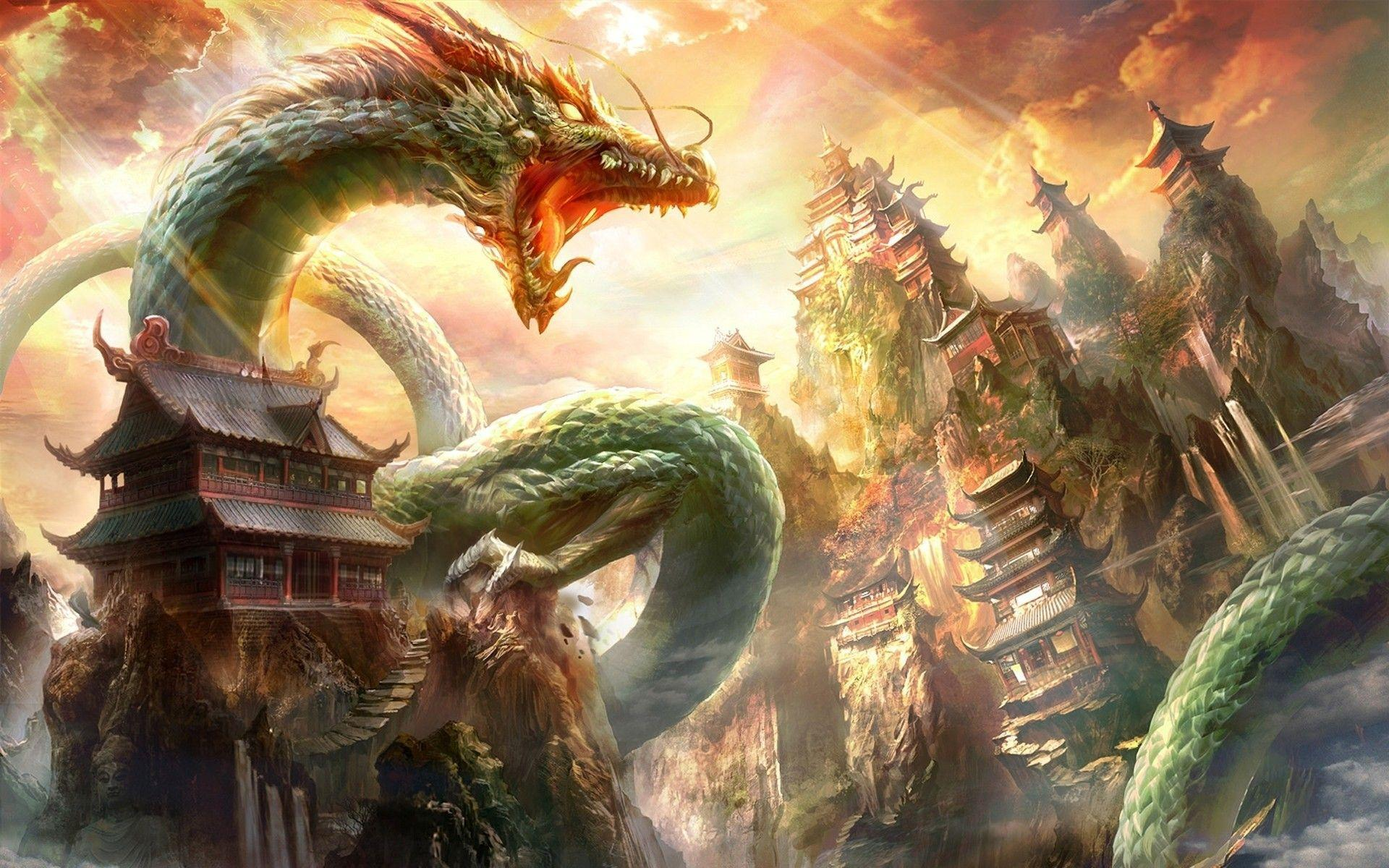 Chinese Dragon Wallpapers Wallpaper