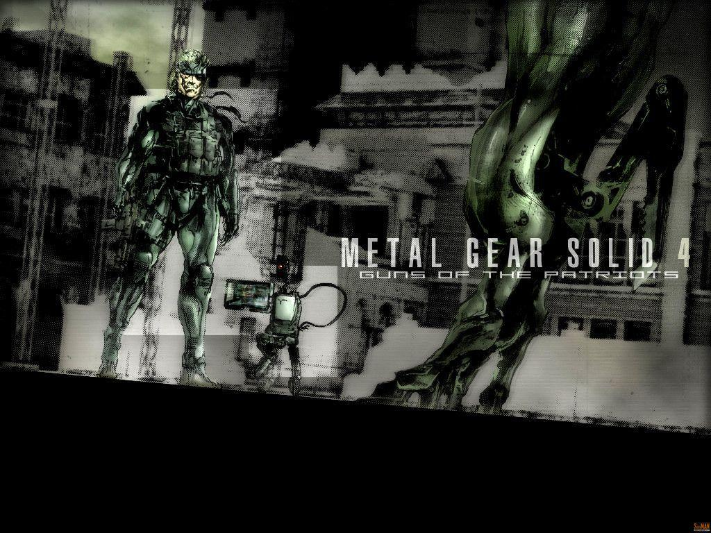 Metal Gear Solid 4 HD Wallpapers HD Game Wallpapers