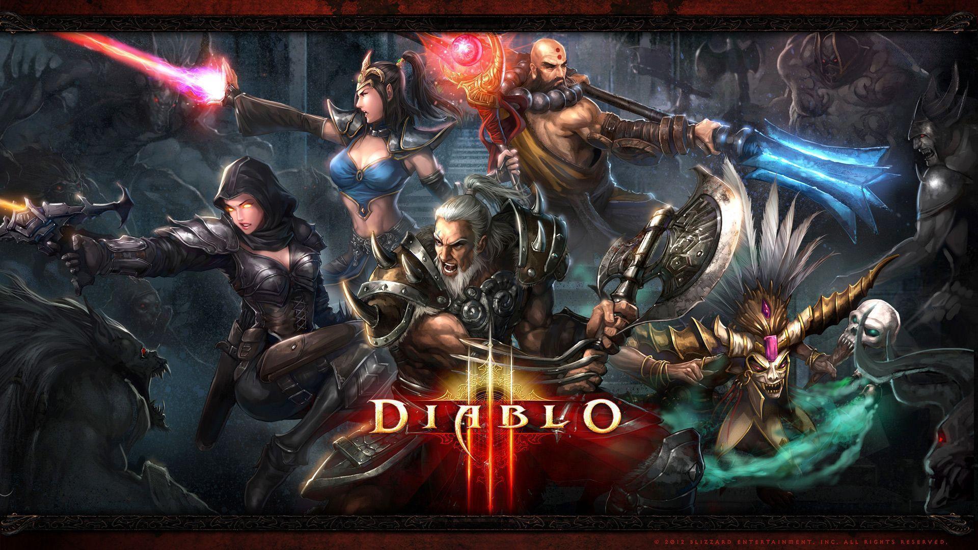 Diablo 3 Charakter Slots
