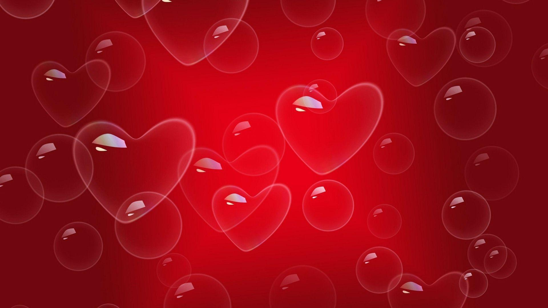 Red Love Wallpaper Hd : Red Love Heart Backgrounds - Wallpaper cave