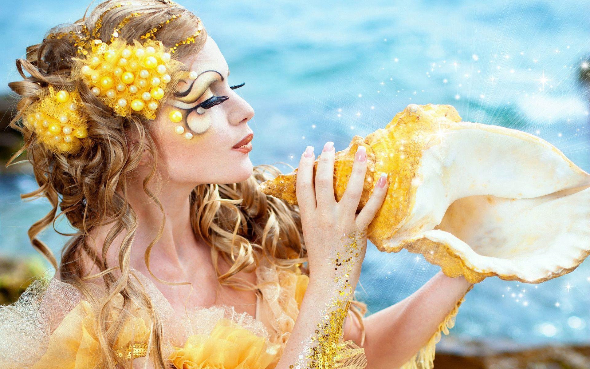 Beautiful Mermaid Hd Wallpapers