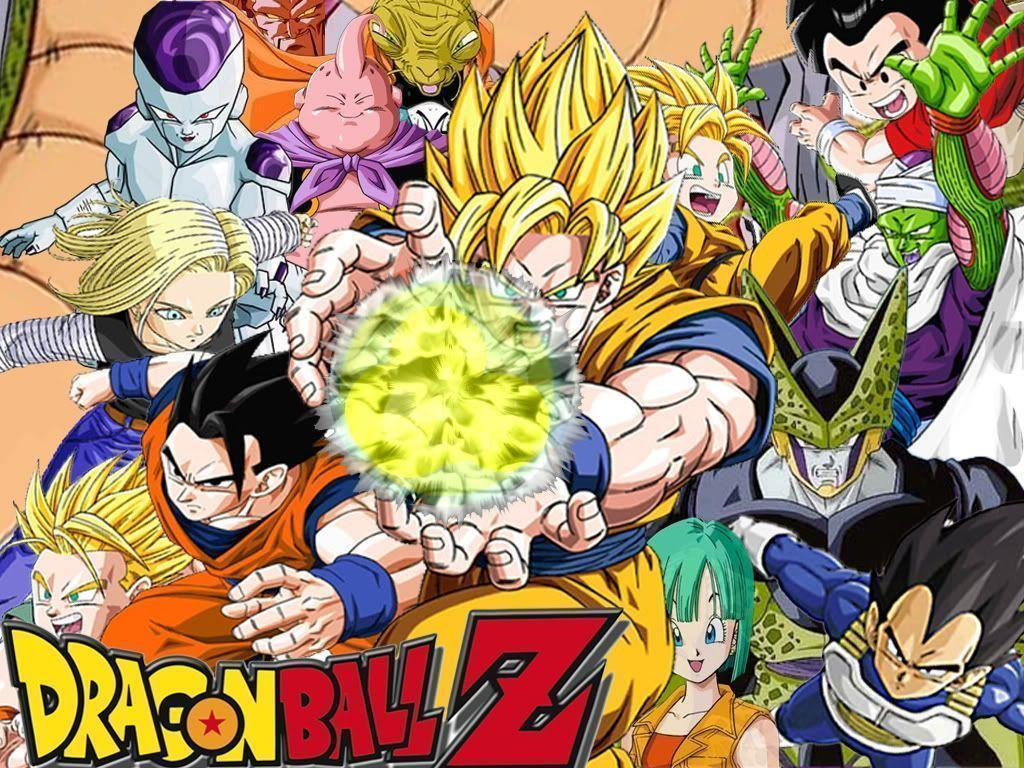 Cool dragon ball z wallpapers wallpaper cave - Images dragon ball z ...