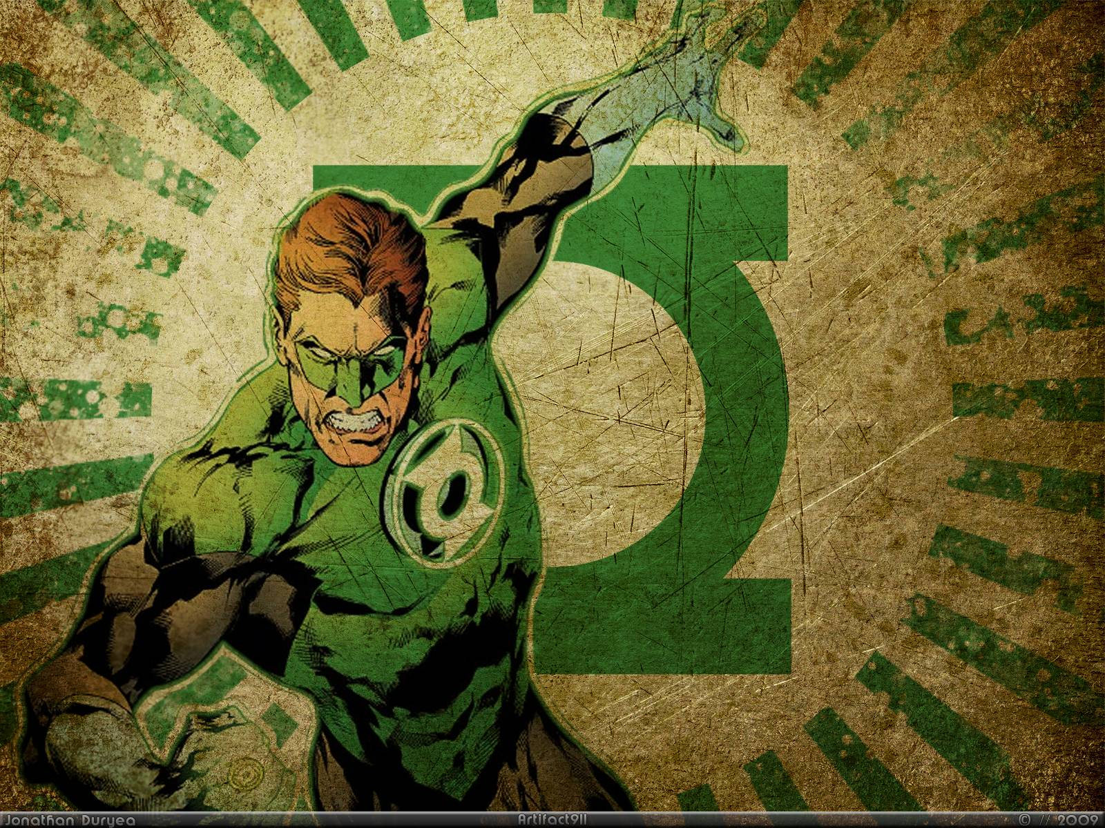 Green Lantern Comic Wallpaper: Green Lantern Backgrounds