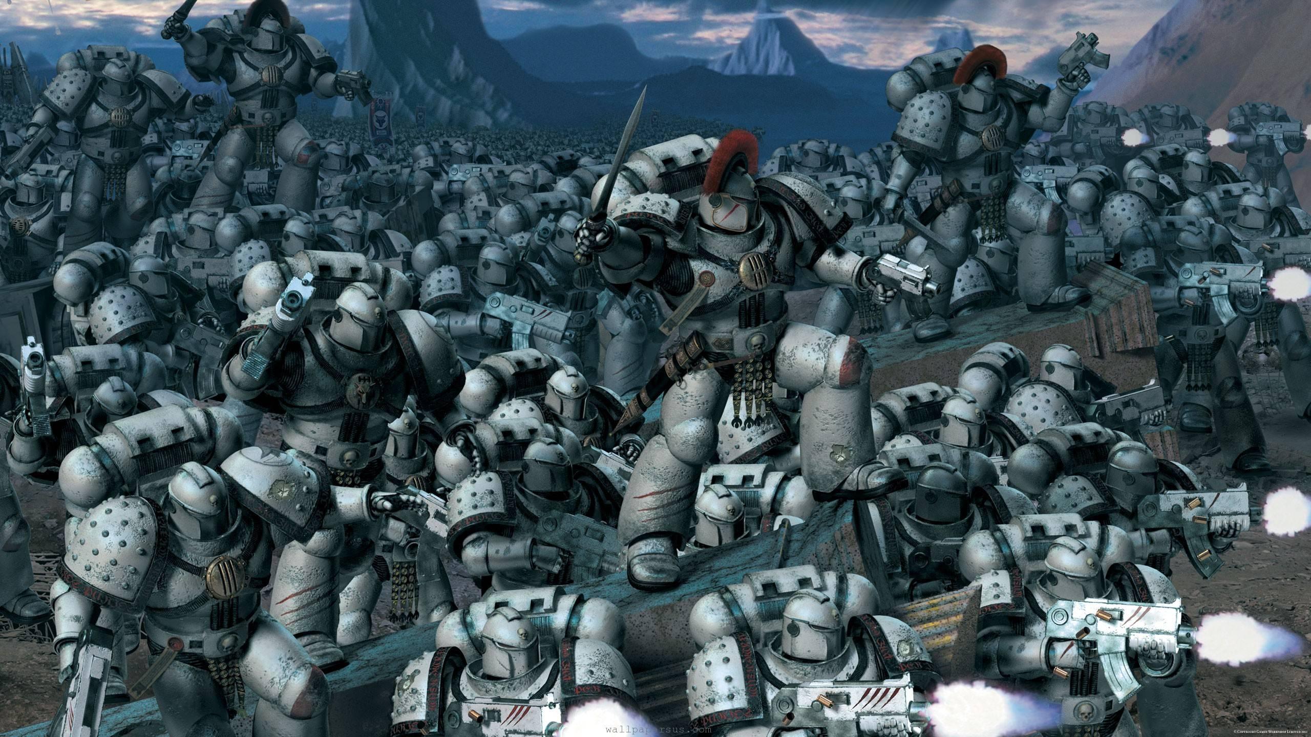 K Marine Viii Space Marines Wallpape...