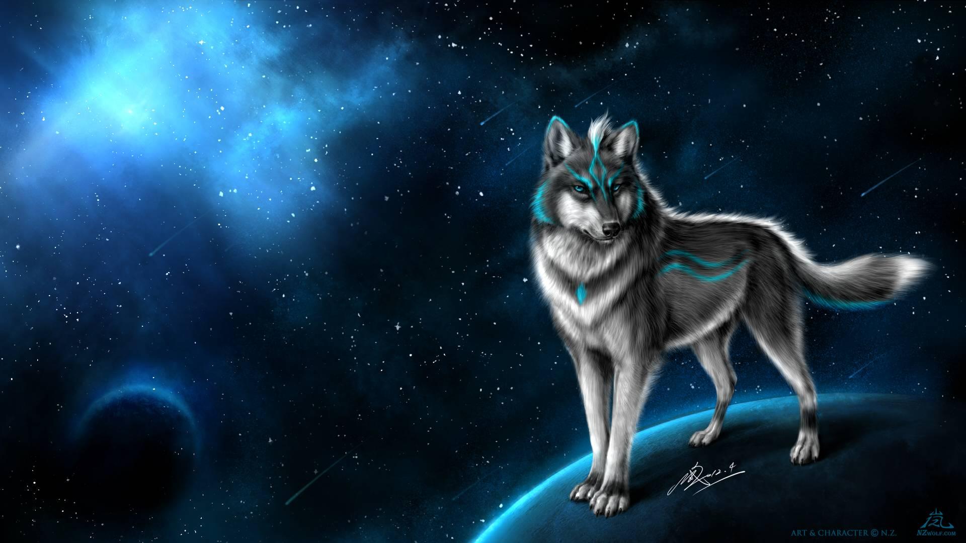 Alaskan Wolf wallpaper