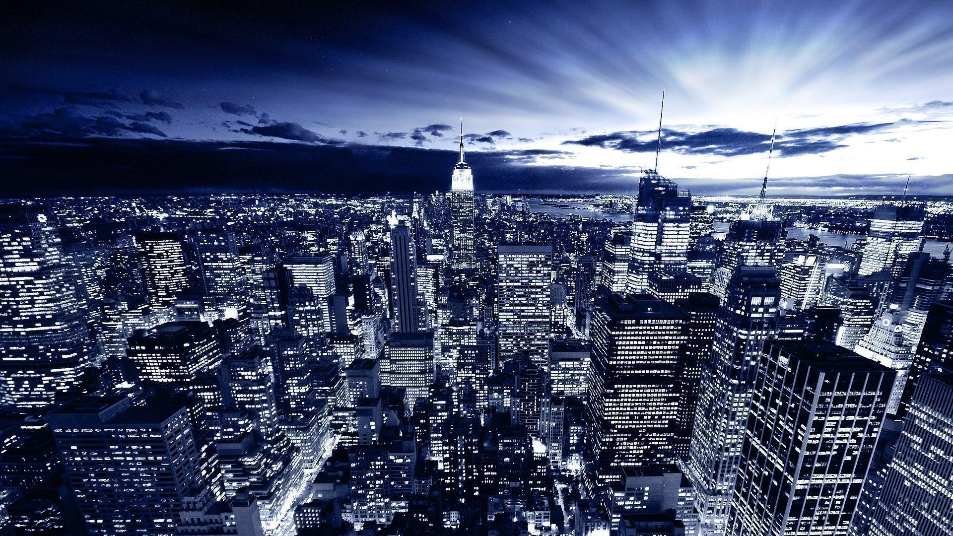 new york at night - photo #31