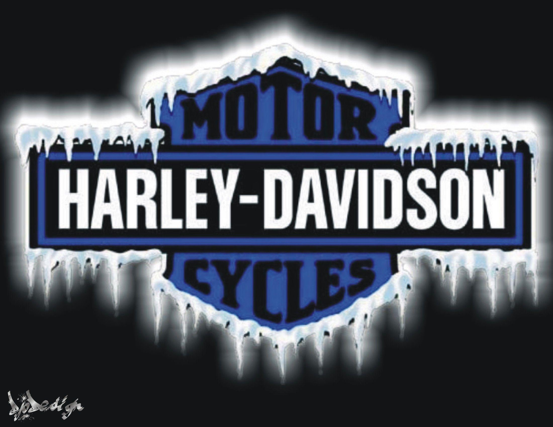 newest harley davidson logo wallpapers - photo #30