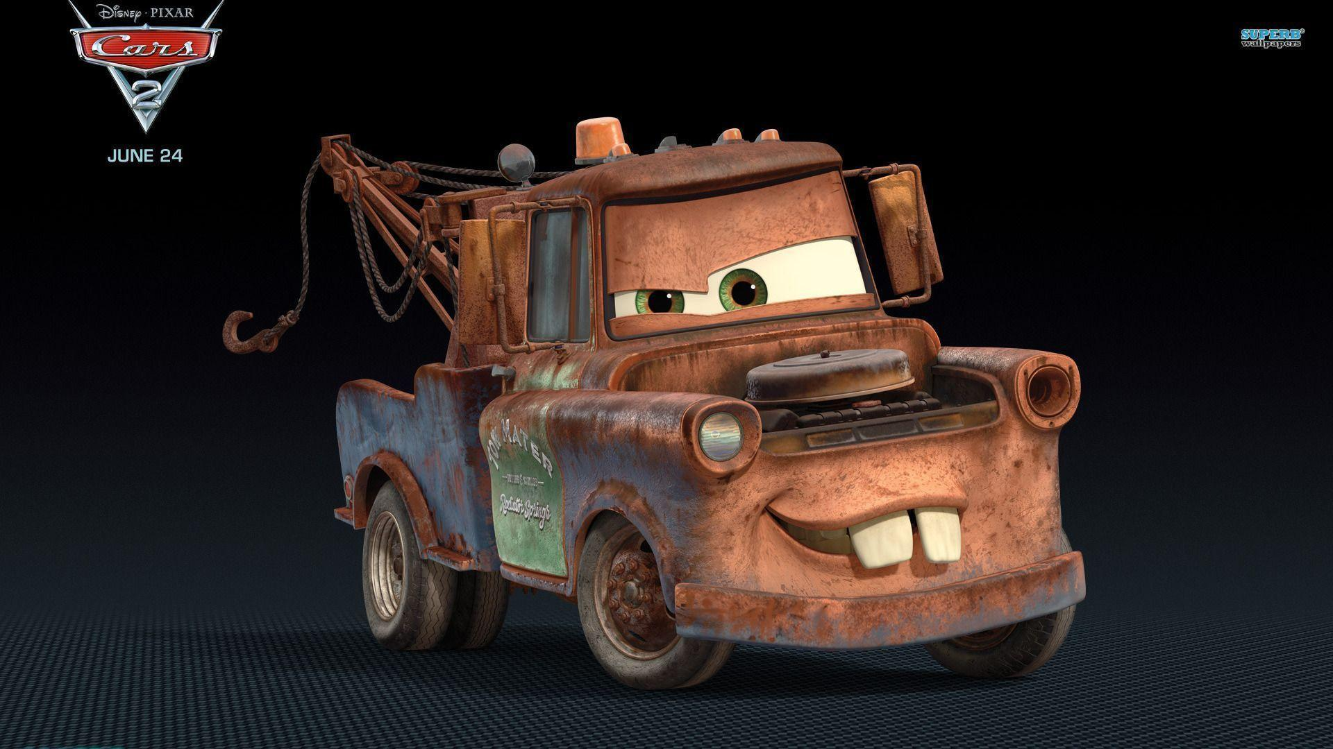 Mater - Cars 2 wallpaper - Cartoon wallpapers - #