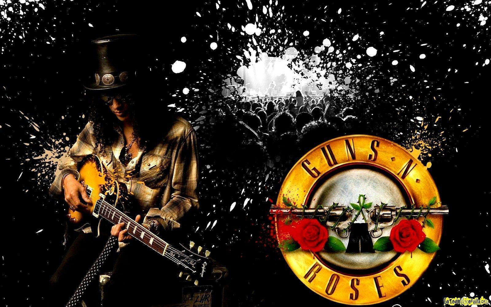 Guns and roses wallpapers wallpaper cave - Wallpaper guns and roses ...