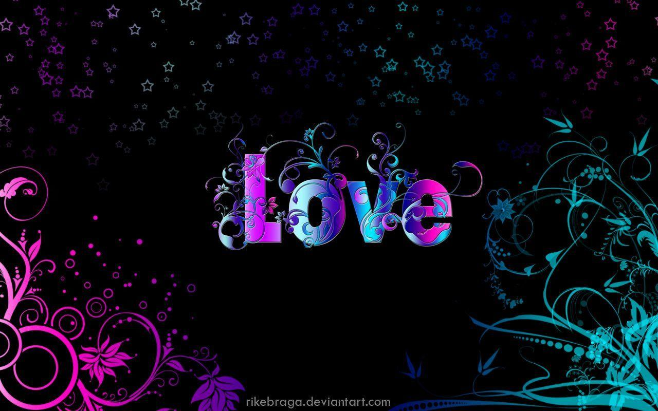 Imagenes Con Frases De Amor En 3d: Words Desktop Wallpapers