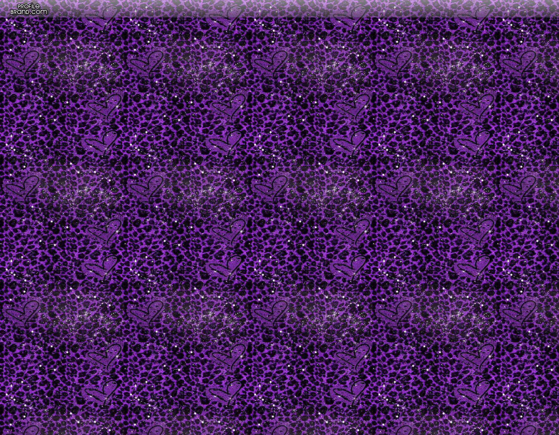 Purple twitter backgrounds wallpaper cave - Purple cheetah print background ...