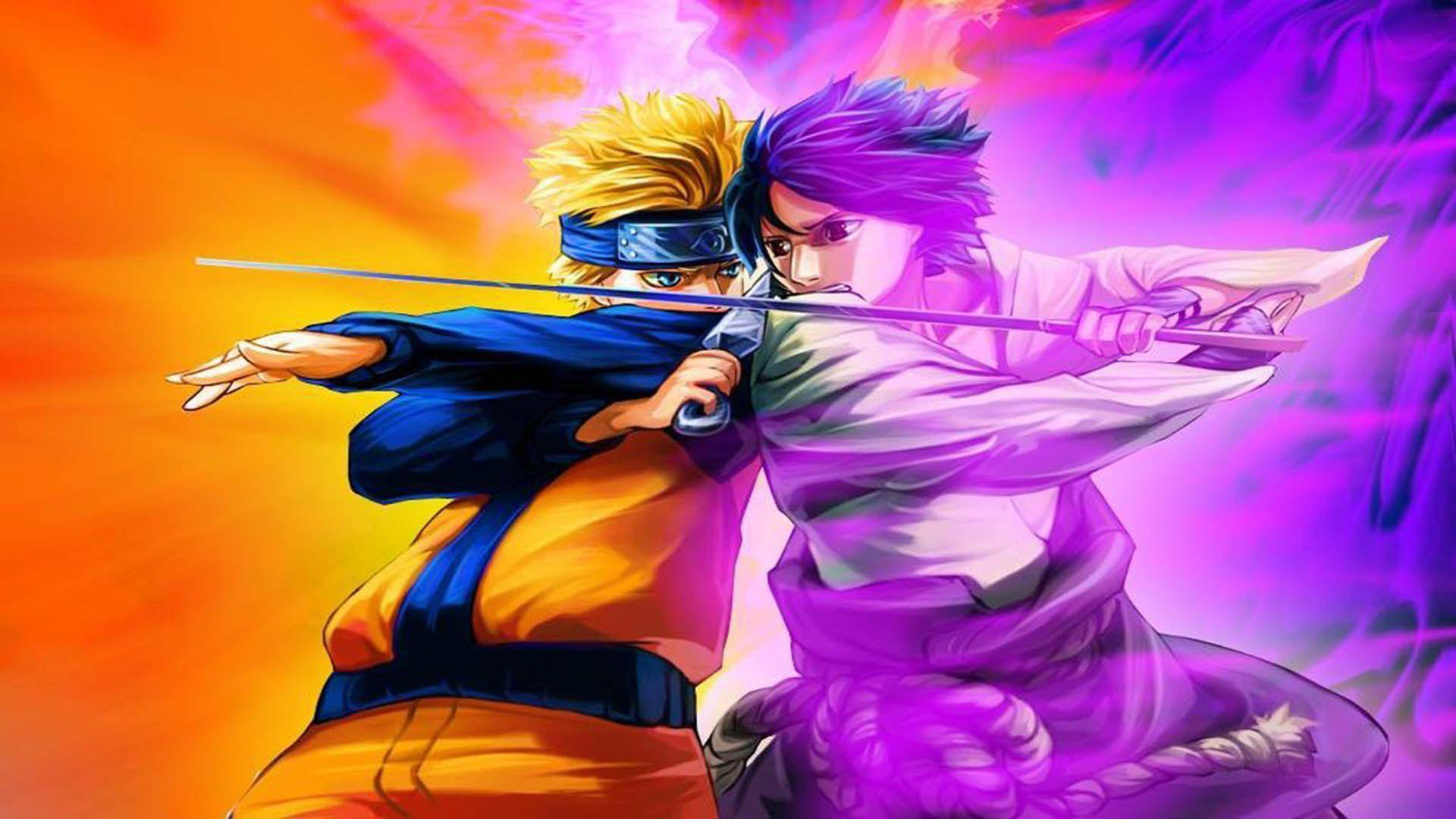 Naruto Vs Sasuke Wallpapers Hd